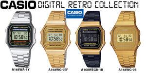 c73e92c668ef Caricamento dell immagine in corso CASIO-A168WEGB-1B-A168WG-9EF-A168WG-9B -A168WA-