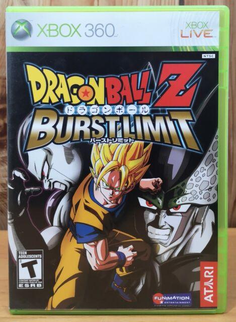 Dragon Ball Z Burst Limit (Xbox 360, 2008, Atari) *Complete T