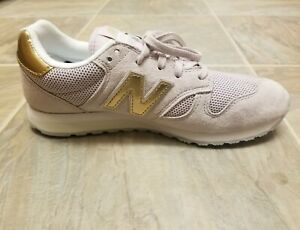 sacerdote Borradura col china  NEW BALANCE 8 Sneakers leather athletic 904 Mauve & gold womens new spring  shoes | eBay