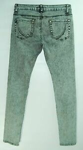ACID-Washed-Gray-Black-LOW-Skinny-Leg-VANILLA-STAR-Stretch-Jeans-7