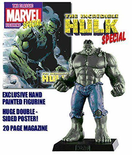 RARE, Eaglemoss Classic MARVEL Figurine Sammlung speziell grau HULK