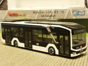 1/87 Rietze MAN Lion's City 12´18 electric DB Frankfurt 76309