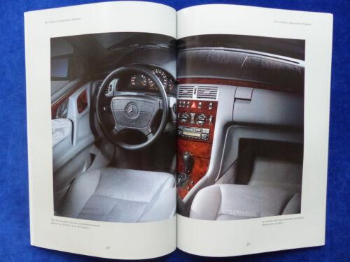 Prospekt Brochure 08.1995 Mercedes-Benz E-Klasse Limousinen W210-58 Seiten