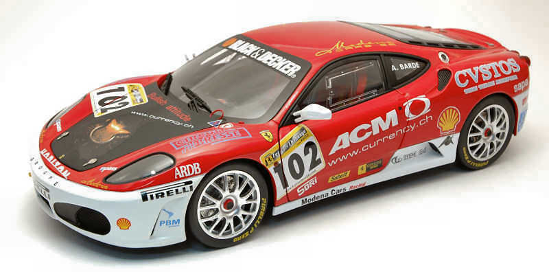 Ferrari f430 herausforderung modena   102 europa - champion 2006 ange barde 1,18 l7113