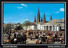 BT10946 Oldenburg schlossplatz mit flohmarkt     Germany