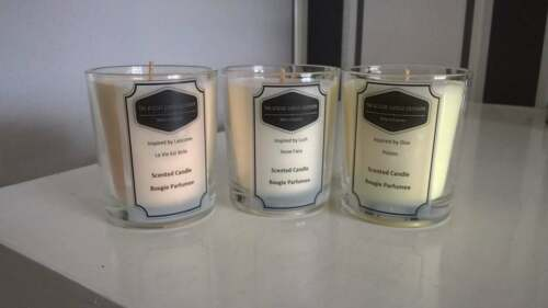 80 Luxury Designer Soy Wax Travel Candle Fragrances Available