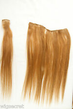 Ginger Red Human Hair  Clip-in-Extensions Accessories