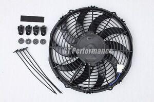 Ventilateur-Extra-Plat-335mm-Universel-160W-Ventilo-Type-Spal-pour-Radiateur