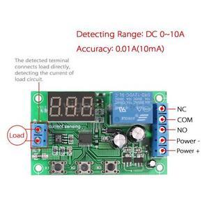 image is loading 0 10a dc current detection sensor module delay