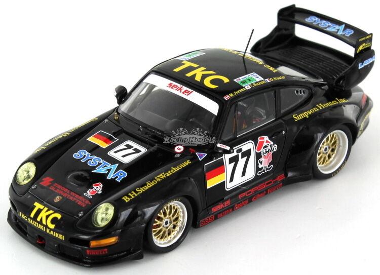 Porsche 911 (993) GT2 siekel Motorsport  77 Le Mans 1996 1 43 - S4447