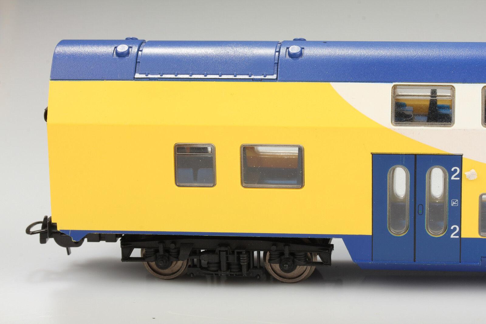 Piko H0 2Kl. Dosto Passenger Car Metronom 30014 Hamburg Dirt Scratches