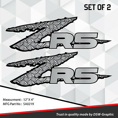 *NEW* ZR-5 4x4 VINYL DECAL STICKER S-10 EXTREME Sonoma ZR-2 S10 pickup truck 435