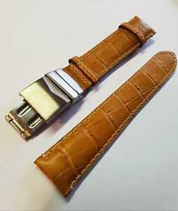 bracelet cuir beige 20mm