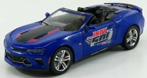 GREENLIGHT 1/24 CHEVROLET | CAMARO SS SPIDER OFFICAL PACE CAR 102th INDIANAPO...