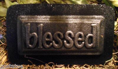 Grace tile plaque mold plaster concrete plastic mould