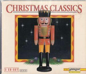 Christmas Classics [Box Set] (CD, Sep-1993, 3 Cds, Laserlight)