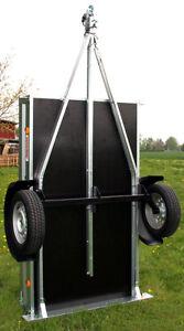 pkw kasten auto anh nger trailer hochkant aufstellbar 13 reifen st tzrad neu ebay. Black Bedroom Furniture Sets. Home Design Ideas