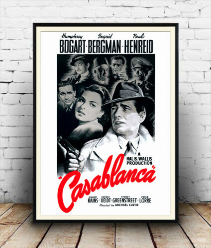 poster reproduction Casablanca movie poster 1942