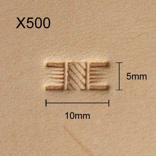 X500 Leather Stamp Punziereisen Punzierstempel Lederstempel