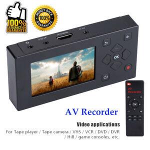 3-034-Convertisseur-Audio-Video-Enregistreur-AV-TFT-Capture-VHS-Magnetoscope