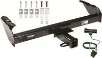 Trailer Hitch W/ Wiring Kit For 1973-1984 Chevy C/k 10 20 30 Class Iii Brand