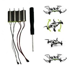 Motor Set for Parrot Rolling Spider Minidrone Mambo Hidrofoil plus Screwdriver