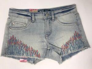 levis-levi-039-s-youth-girls-sz-10-Reg-shorty-short-jean-shorts-NWT-FF17