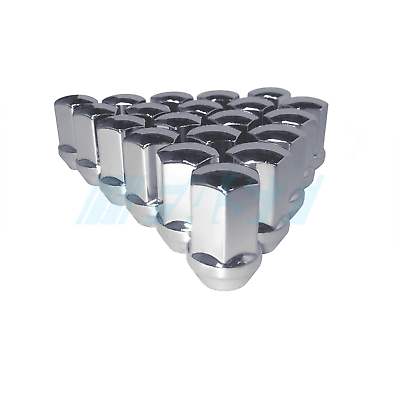 20pcs Chrome 14mm X 1.50 Wheel Lug Nuts fit 1997 Chevrolet C3500 May Fit OEM Rims Buyer Needs to Review The spec