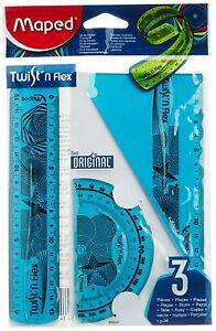 Maped Twist Flex Unzerbrechlich Zollstock 30.5cm PINK 30 CM GRÜn oder Blau