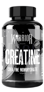 Warrior Creatine Monohydrate (1000mg) - 60 Tablets Capsules Muscle & Strength