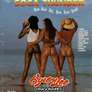 SEALED-NEW-LP-Byron-Lee-amp-The-Dragonaires-Soca-Thunder