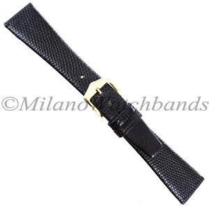 20mm-Gilden-Dark-Brown-Luxury-Flat-Genuine-Wild-Lizard-Tapered-Mens-Band-Regular