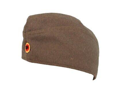 Men's Vintage Verde Lana Stile Militare Tedesco Hat Cap Medium-mostra Il Titolo Originale