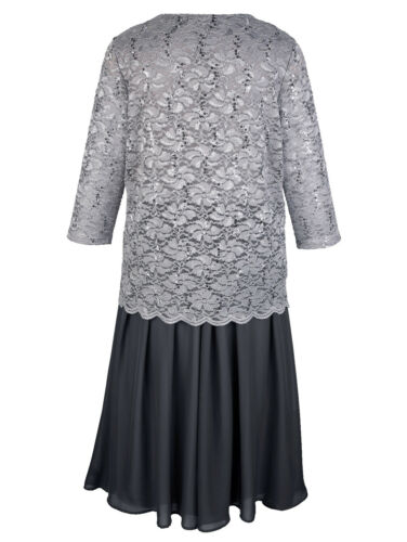 0718810198 top Dress Con in Brands 50 carbone pizzo Gr Grigio zFw4nx