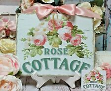 Door Sign Decoration Sign Country Home Vintage Shabby Retro Flip Week dekoschild