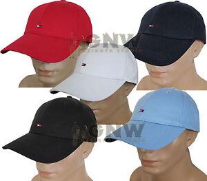 0a52dfc2541 TOMMY HILFIGER MEN S CLASSIC BASEBALL CAP  GOLF CAP ALL COLOURS ONE ...
