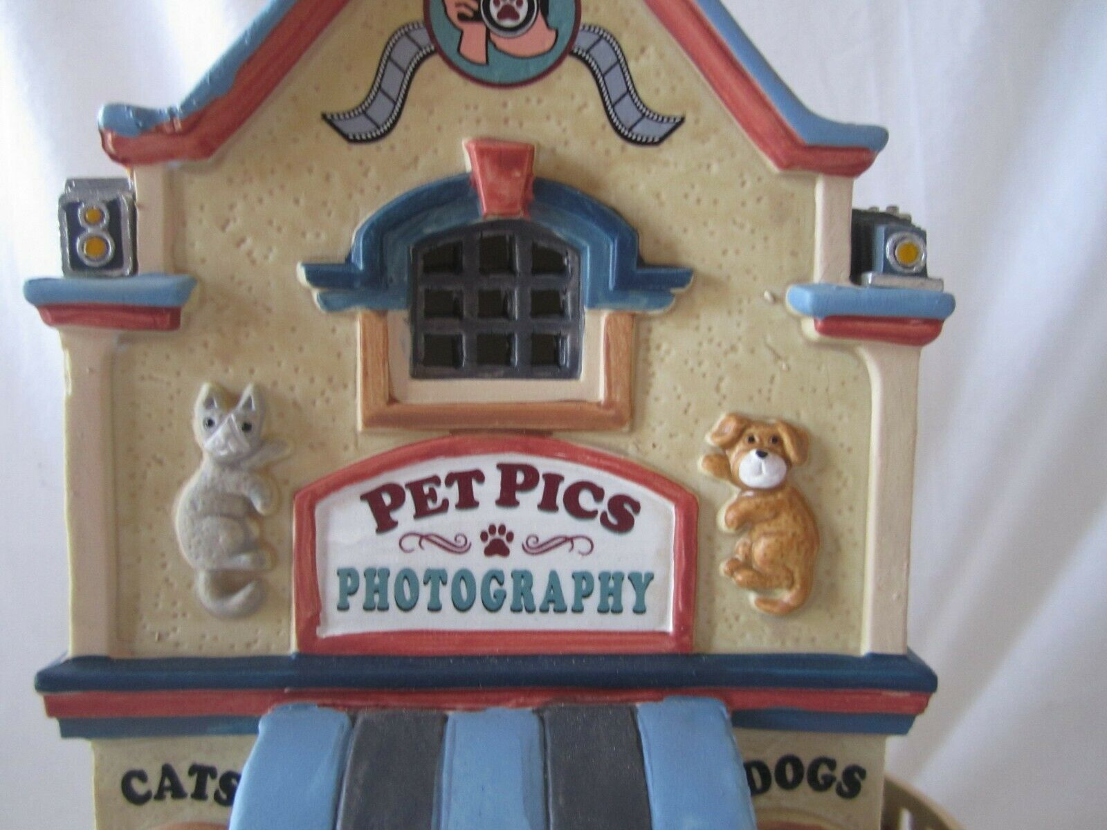Lemax Christmas Village PET PICS PHOTOGRAPHY  85391 @2018 NEW NEW NEW Store Exclusive 1edc10
