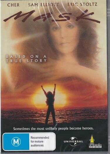 Mask - Cher & Sam Elliot & Eric Stoltz - New & Sealed Dvd Free Local Post