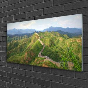 Acrylglasbilder 100x50 Wandbild Druck Gebirge Straße Landschaft