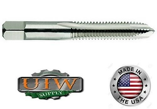 2-Flute USA MADE 3 PC LOT 10-32 Spiral Point HSS Plug Tap