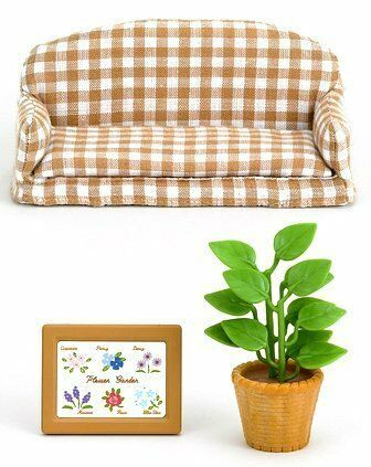 Sylvanian Families furniture living room sofa mosquito 518