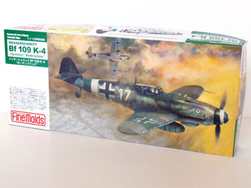 Fine Molds Fl12 Alemán Messerschmitt Bf 109 K-4 1:72 Escala Kit