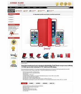 Complete eBay Store Front Design Responsive eBay Store Template
