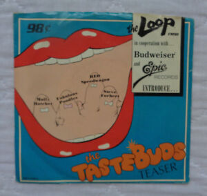 Epic-Records-Budweiser-FM-98-The-Loop-The-Taste-Buds-Teaser-7-034-lp-PROMO-NM