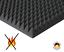 Pyramiden-Schaumstoff-SELBSTKLEBEND-Dammung-Akustik-Schallschutz-Flammhemend-PC miniatura 5