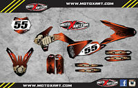 Ktm 85 2013 - 2016 Full Custom Graphic Kit - Reaper Style / Stickers,decals