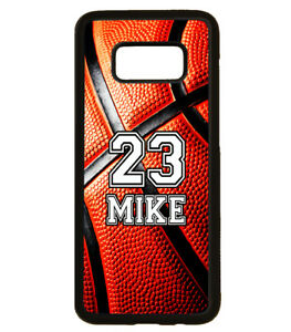 new style 05539 61485 Details about PERSONALIZED NUMBER NAME BASKETBALL PHONE Case For Samsung  Galaxy S9 S8 NOTE 9 8
