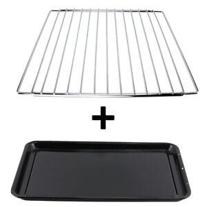GORENJE Adjustable Chrome Oven Cooker Grill Shelf /& Large Enamel Baking Tray