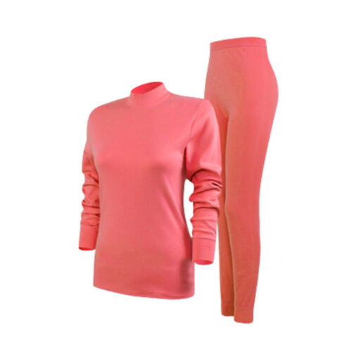 2PCS Women Mens Winter Warm Thermal Underwear Set Tops+Bottom Long Johns Pants
