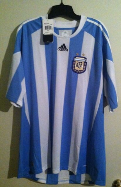 d3e696f8 adidas Argentina Home Football Soccer Jersey Shirt for sale online ...